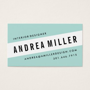 CheerUpCherup On A Slant Bold Graphic Business Card