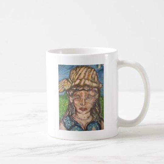 On A Summer Day She Loved Van Gogh Coffee Mug