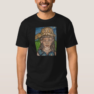 On A Summer Day She Loved Van Gogh T-Shirt