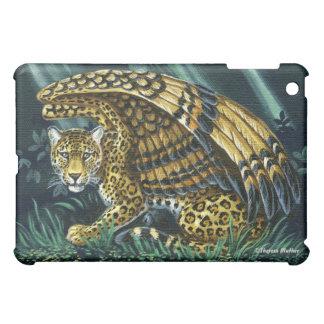 On Alert Winged Jaguar iPad Case