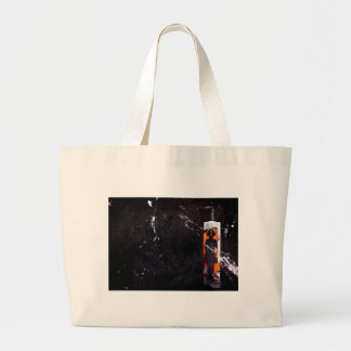 on all accounts, unaccounted. large tote bag