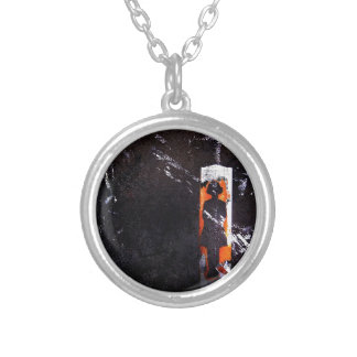 on all accounts, unaccounted. personalized necklace