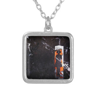 on all accounts, unaccounted. silver plated necklace