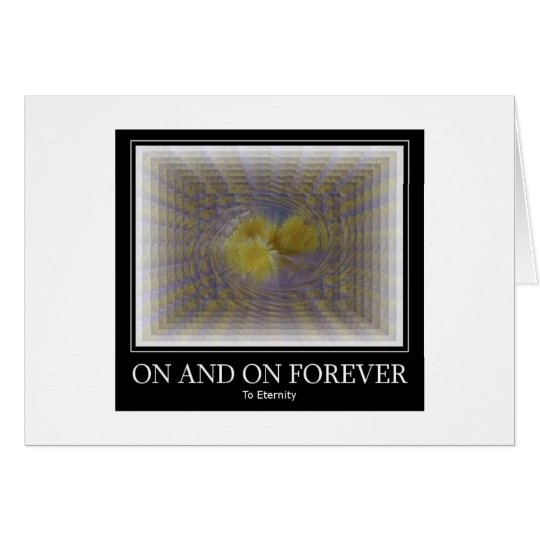 On and On Forever Card