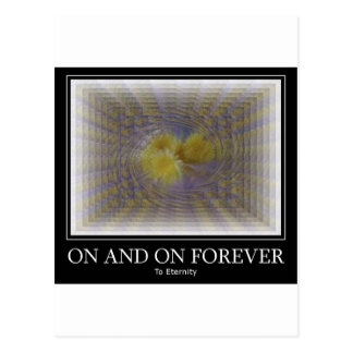 On and On Forever Postcard
