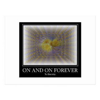 On and On Forever Postcards