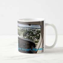 On approach to Kjeller Airport, Norway Coffee Mug