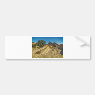 On Approach to Vasquez Rocks Bumper Sticker