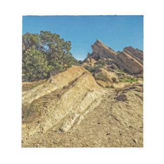 On Approach to Vasquez Rocks Memo Pad