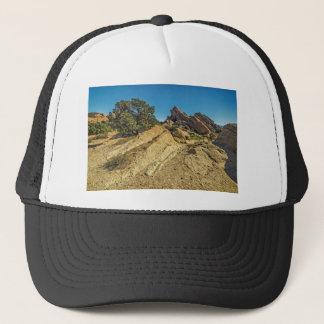 On Approach to Vasquez Rocks Trucker Hat