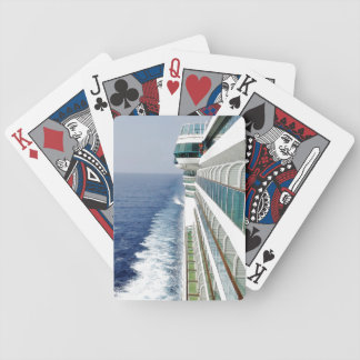 On Balcony Row Bicycle Playing Cards