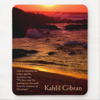 On Beauty - The Prophet by Kahlil Gibran Mouse Pad