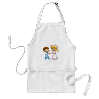 On Bended Knee Adult Apron
