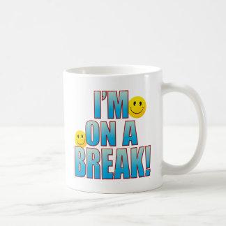 On Break Life B Coffee Mug
