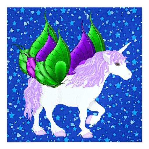 ON Butterfly WINGS - SRF Custom Announcements