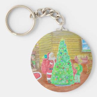 on christmas eve keychain
