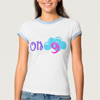 "۞»""On Cloud 9""-Vintage-inspired Ringer T-Shirt«۞ T-shirts"