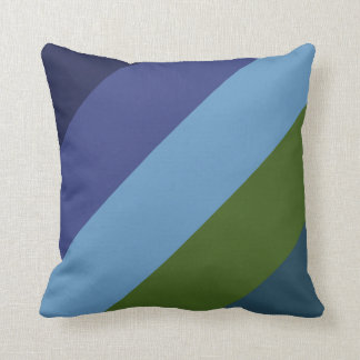 On Colored Wings Square Throw Pillow