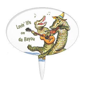 On da Bayou Cake Topper