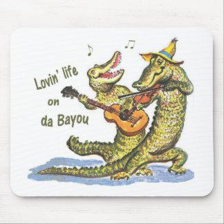 On da Bayou Mouse Pad