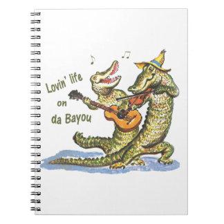 On da Bayou Notebook