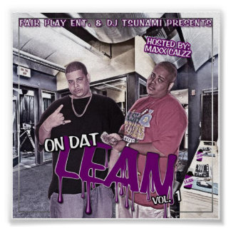 On Dat Lean Vol.1(poster) Poster