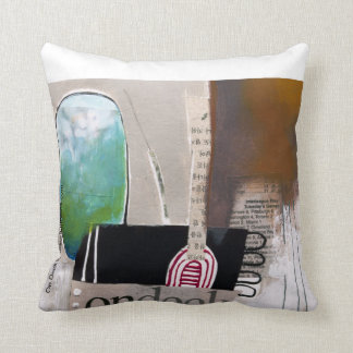 On Deck by Maurice Evans Throw Pillow