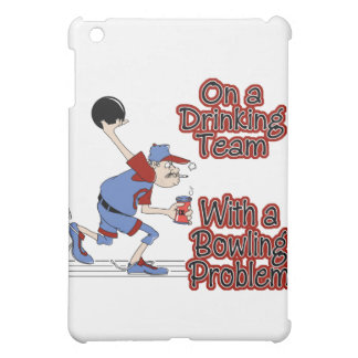 on drinking team with bowling problem iPad mini cover