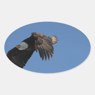 On Eagle Wings Sticker