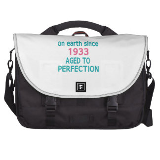 On earth since 1933 aged to perfection bags for laptop