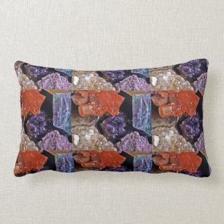 On Edge Crystal Patchwork Pillows
