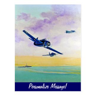 On Final Approach Postcard