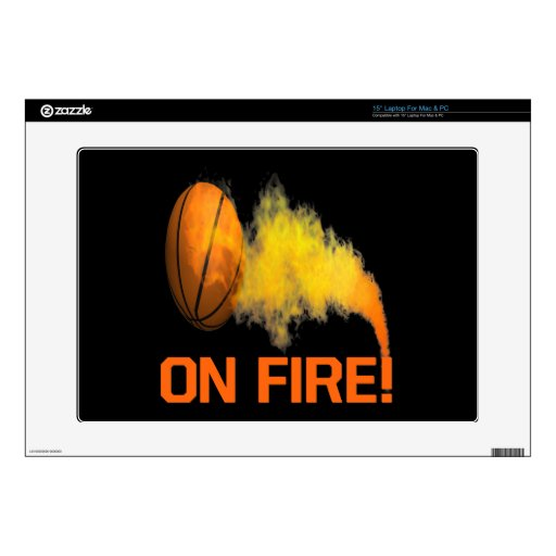 On Fire 2 Skin For Laptop