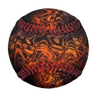 On Fire- Baseball-Design 4 Baseball