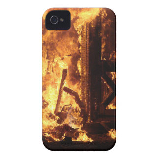 On Fire Blackberry Bold Cover