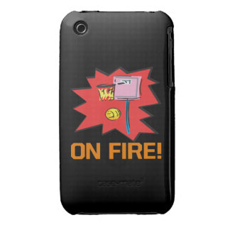 On Fire iPhone 3 Cases