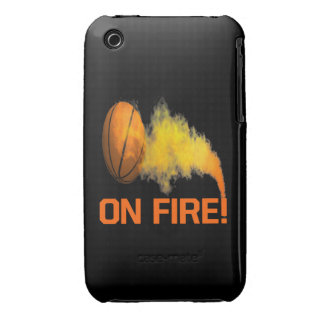 On Fire iPhone 3 Case