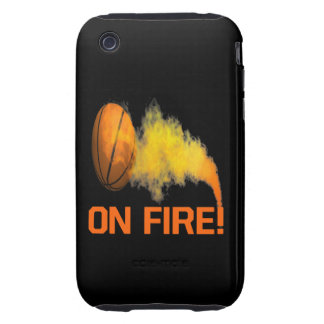 On Fire iPhone 3 Tough Case