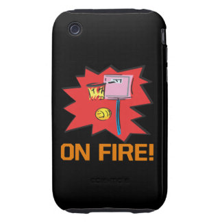 On Fire Tough iPhone 3 Covers