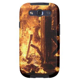 On Fire Galaxy S3 Case