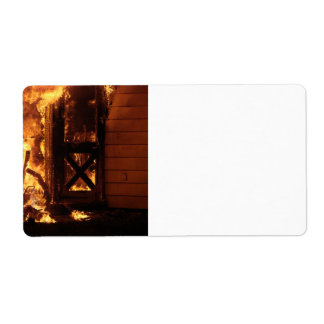 On Fire Custom Shipping Labels