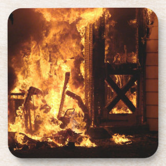 On Fire Drink Coaster