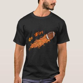 On Fire football t-shirt