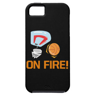 On Fire iPhone SE/5/5s Case