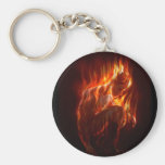 On Fire Keychains