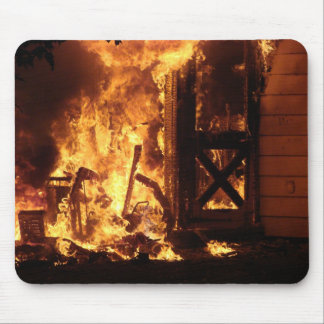 On Fire Mouse Pads