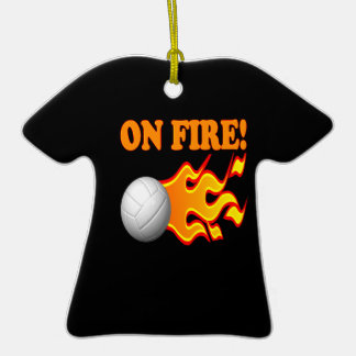 On Fire Christmas Ornaments