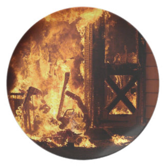 On Fire Plate