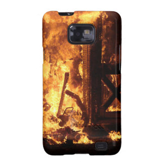 On Fire Samsung Galaxy S2 Covers