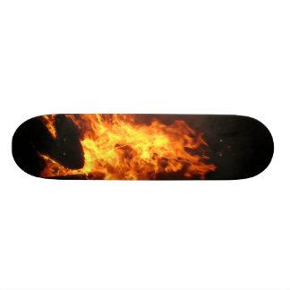 ON FIRE SKATEBOARD DECK